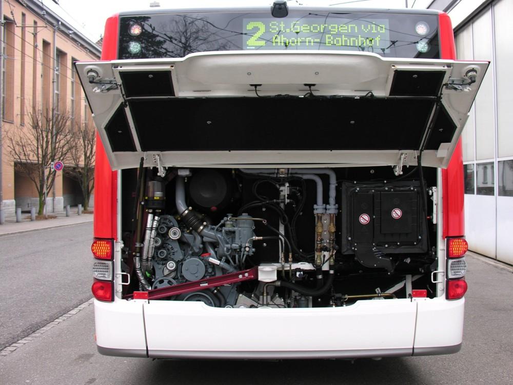 Man Lion 39 S City A37 2 Achser Motor Stehend